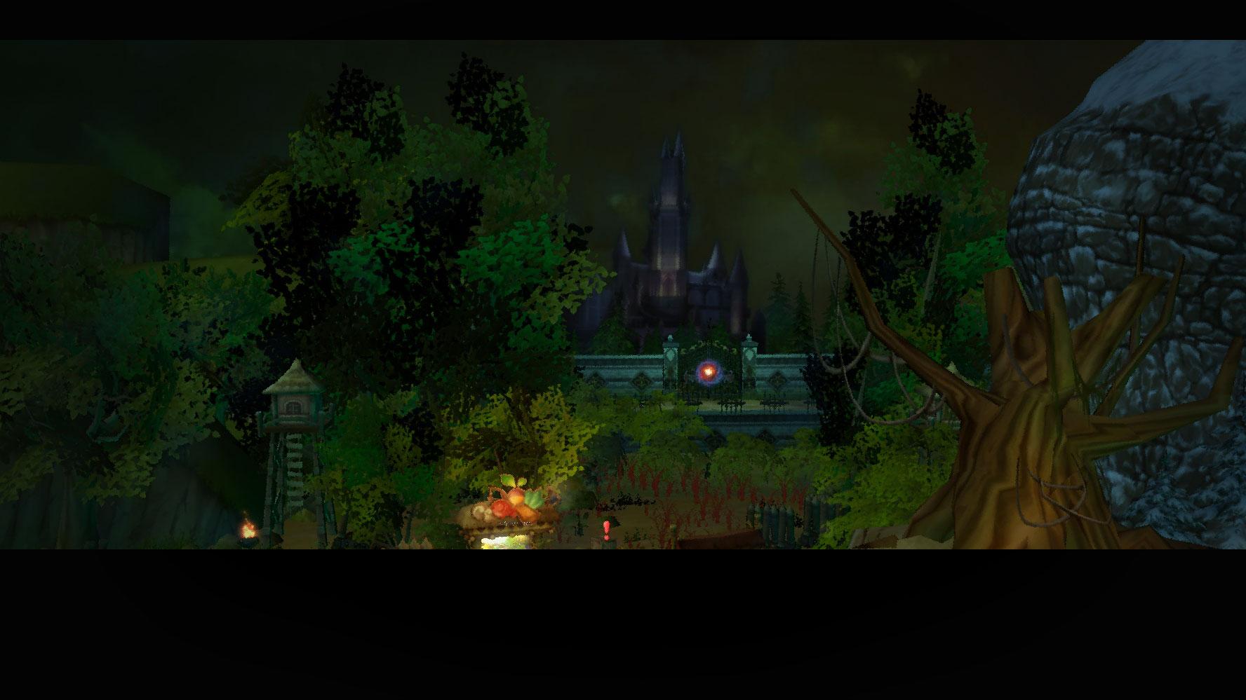 Village of Ash Mist and VanCliff Castle
